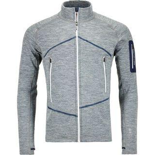 Ortovox Merino Fleece Light Melange Jacket M, grey blend - Fleecejacke