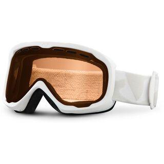 Giro Focus, white icon/amber rose - Skibrille