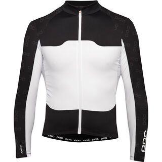 POC AVIP LS Ceramic Jersey, black/white - Radtrikot