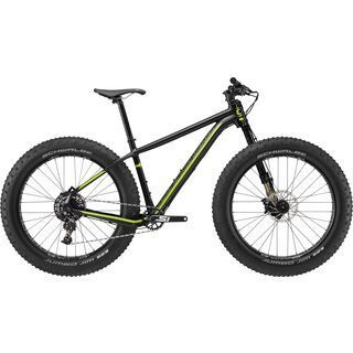 Cannondale Fat CAAD 1 2017, black/green - Mountainbike
