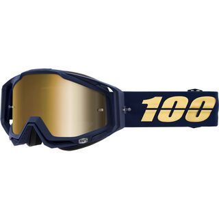 100% Racecraft, bakken/Lens: mir true gold - MX Brille