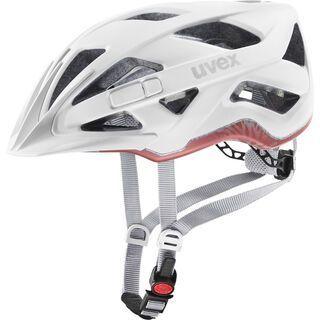 uvex active cc, white mat - Fahrradhelm