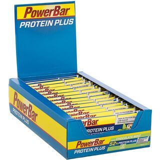 PowerBar Protein Plus 52% - Chocolate Mint (Box) - Proteinriegel