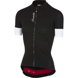 Castelli Anima 2 Jersey FZ, black - Radtrikot