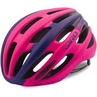 Giro Saga, mat bright pink - Fahrradhelm