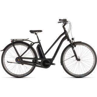 Cube Town Hybrid EXC 400 Trapeze 2019, black edition - E-Bike