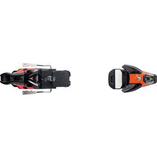 Salomon STH2 WTR 16 115 mm, black/orange - Skibindung