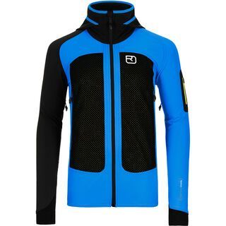 Ortovox Merino Jacket Col Becchei, blue ocean - Fleecejacke