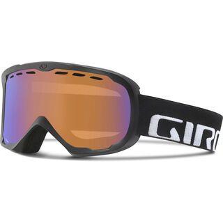 Giro Focus, black wordmark/Lens: persimmon boost - Skibrille