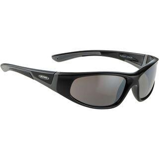 Alpina Flexxy Junior, black grey/Lens: ceramic mirror black - Sportbrille