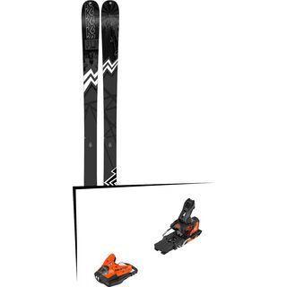 Set: K2 SKI Press 2019 + Salomon STH2 WTR 13 orange/black