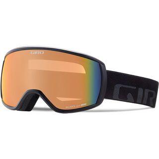 Giro Balance, black wordmark/Lens: persimmon blaze - Skibrille