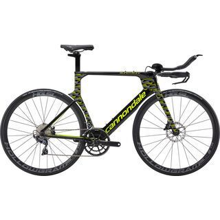 *** 2. Wahl *** Cannondale SuperSlice Ultegra 2019, jet black - Triathlonrad | Größe 52 cm