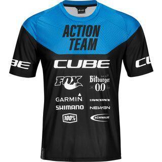 Cube Edge Rundhalstrikot kurzarm X Actionteam