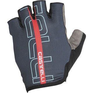 Castelli Tempo Glove, dark infinity blue/red - Fahrradhandschuhe