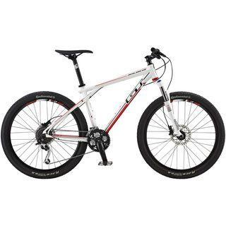 *** 2. Wahl *** GT Avalanche Elite 2014, white - Mountainbike   Größe M // 44,5 cm