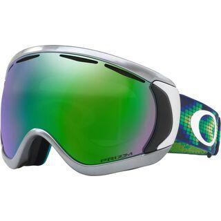 Oakley Canopy Prizm, black chrome/Lens: prizm jade iridium - Skibrille