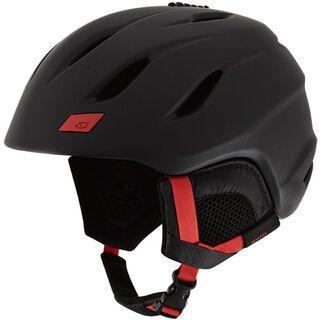Giro Nine, matte black bright red - Skihelm