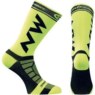 Northwave Extreme Light Pro Socks, yellow fluo/black - Radsocken