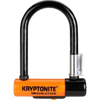 Kryptonite Evolution Mini-5, orange/schwarz - Fahrradschloss