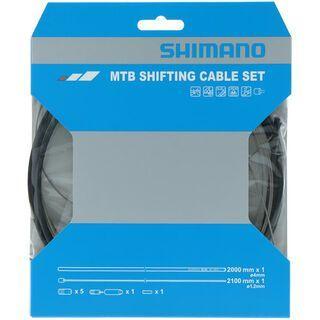 Shimano Schaltzug-Set MTB Edelstahl, schwarz