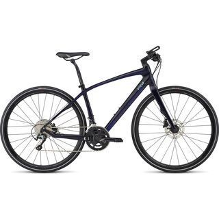 Specialized Vita Comp Carbon 2017, blue/indigo/turq - Fitnessbike