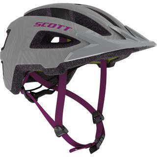 Scott Groove Plus Helmet, grey/ultra violet - Fahrradhelm