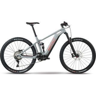 BMC Speedfox AMP Three 2018, grey/red - E-Bike