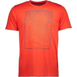 Scott Trail MTN DRI 60 S/SL Shirt, tangerine orange - Radtrikot