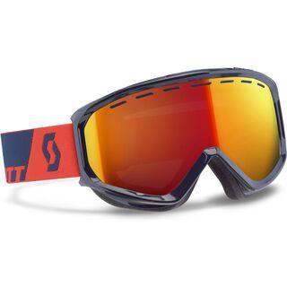 Scott Level, blue orange/red chrome - Skibrille