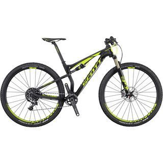 Scott Spark 900 RC 2016, black/yellow - Mountainbike