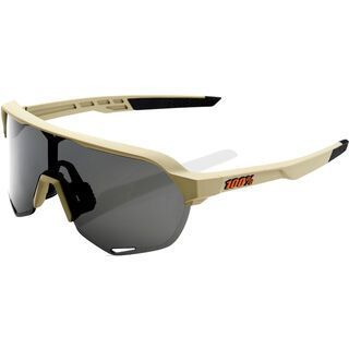 100% S2 inkl. WS, soft tact quicksand/Lens: smoke - Sportbrille