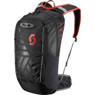 Scott Trail Lite FR' 22 Pack, caviar black/fiery red - Fahrradrucksack