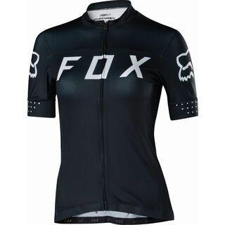 Fox Womens Switchback Jersey, black/white - Radtrikot