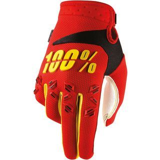 100% Airmatic, red - Fahrradhandschuhe