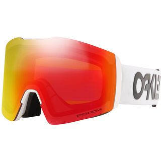 Oakley Fall Line XL Prizm Factory Pilot, white/Lens: torch iridium - Skibrille