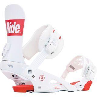 Ride Rodeo 2018, white - Snowboardbindung
