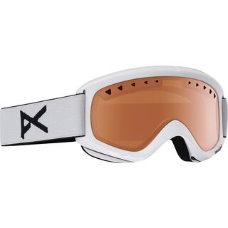 Anon Helix, white/amber - Skibrille