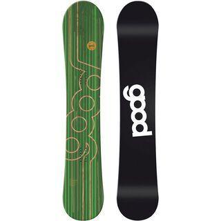 goodboards Apikal Double Rocker XX-Wide 167 cm 2017, grün - Snowboard