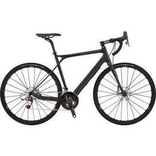 GT Grade Carbon RED 2017, raw/black - Gravelbike