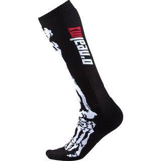 ONeal Pro MX Socks XRay, black/white - Radsocken