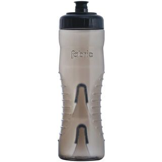 Fabric Cageless Waterbottle 750 ml, smoke/black - Trinkflasche