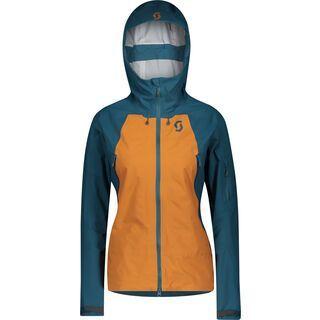 Scott Explorair 3L Women's Jacket, majolica blue/ginger bread - Skijacke