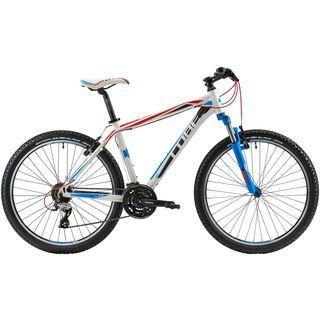 Cube Aim 2014, white/red/blue - Mountainbike
