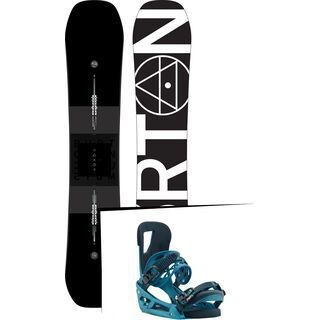 Set: Burton Custom X Flying V 2019 +  Cartel EST (1930915S)