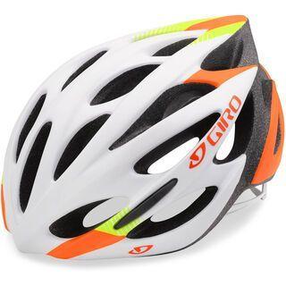 Giro Monza, white lime flame - Fahrradhelm