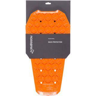Norrona D3O removable Back Protector, pure orange - Rückenprotektor