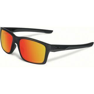 Oakley Mainlink Polarized, matte black/Lens: ruby iridium - Sonnenbrille