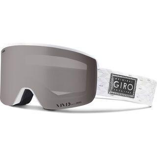 Giro Ella inkl. WS, white silver/Lens: vivid onyx - Skibrille