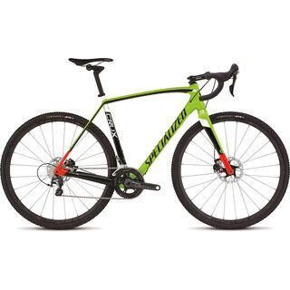 Specialized CruX Pro Race 2016, green/red/black - Crossrad